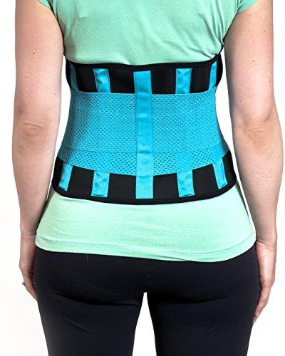 Ceinture lombaire de maintien soutien pour le bas du dos soulagement de la douleur dorsale - Ceinture dorsale homme ...