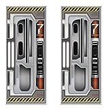 """Best Beistle Of The Doors - Beistle 59896 2Piece Spaceship Door Covers, 30"""" x Review"""
