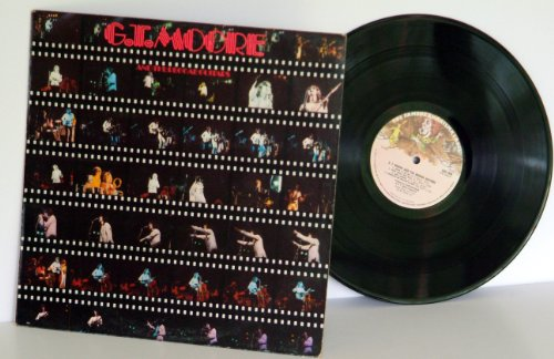 ggae guitars. RARE. First UK press 1974. Matrix A-1U, porky, B-1U, pecko. On large mad hatter Charisma records. (Original Mad Hatter)