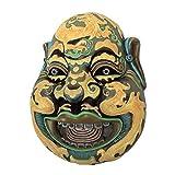 Design Toscano Wei Chi Gong, Skulpturale Wandmaske