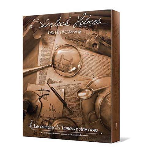 Sherlock Holmes - Detective Asesor, los crímenes del Támesis y otros casos (Ed. Asmodee)