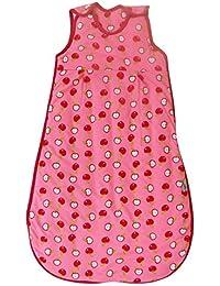 slumbersac Saco de dormir plisadas 2.5 tog en rojo para niña – Manzanas – Disponible en