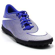 Nike - Zapatillas de fútbol Sala de Piel para Hombre Azul Turquesa 82d2f22bf0249