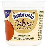 Ambrosia Deluxe flan de vainilla y caramelo salado 150g