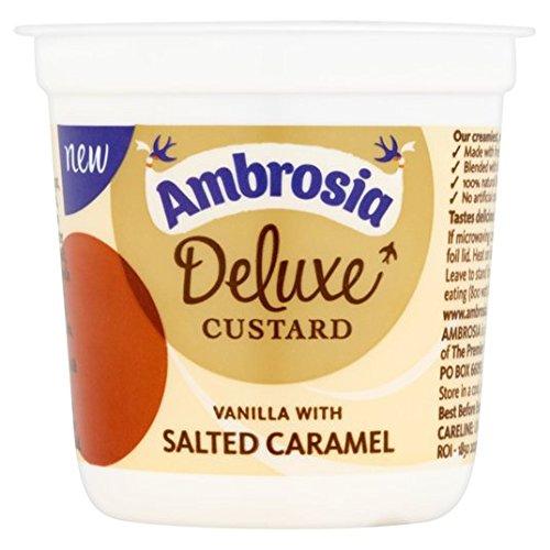 Ambrosia Deluxe Custard Vanilla & Salted Caramel 150g