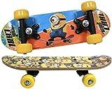 Childs Official Kids Despicable Me Minion New Double Kicktail Satchel Skateboard