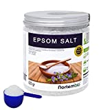 NortemBio Sal de Epsom 820g, Fuente concentrada de Magnesio, Sales 100% Naturales. Baño y Cuidado Personal.
