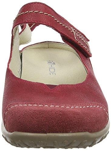 Rohde Mailand 1158 Damen Ballerinas Rot (43 cherry)