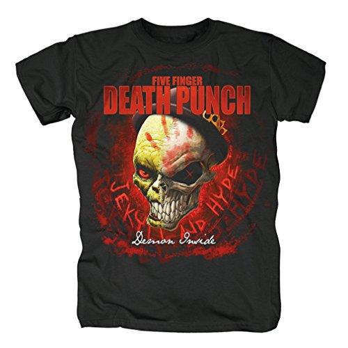 Five Finger Death Punch -  T-shirt - Uomo nero m