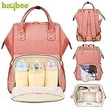 BAYBEE Wide Open Designer Baby Multi-Function Waterproof Diaper Insulated Pocket Backpack for Mom