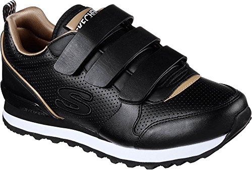705 Donna Low Skechers Blk Sneakers Nero a87WP8Bqg