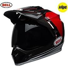 Bell Cascos MX-9Adventure MIPS, Berma negro/blanco/rojo, grande