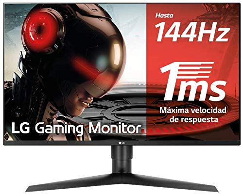 LG 27GL850-B 68,58 cm (27 Zoll) UltragearTM QHD IPS Gaming Monitor (144 Hz, 1ms GTG, G-Sync, DAS Mode), schwarz