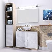 Waschbeckenunterschrank Badschrank Badzimmermöbel Unterschrank  Badezimmermöbel Für Alle Gängigen Waschbecken ...