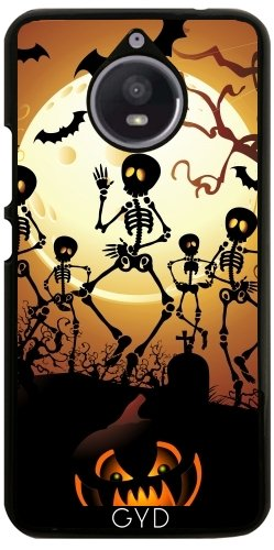 Hülle für Motorola Moto E4 Plus - Skelette Macabre Tanz by BluedarkArt