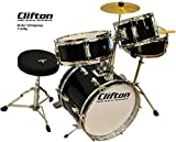 Clifton Junior Bambini Percussioni Drum Set incluso Sgabello e Bacchette