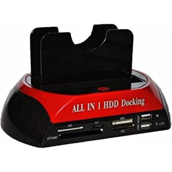 "Docking Station Multifunzionale usb 2.0 HDD Hard Disk Supporta 2.5"" , 3.5"" IDE SATA WLX-875"