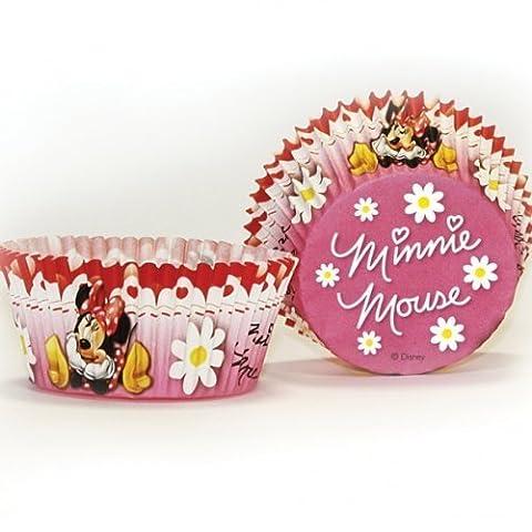 Minnie Mouse et pois Rouge 50 caissettes pour cupcakes Motif fête