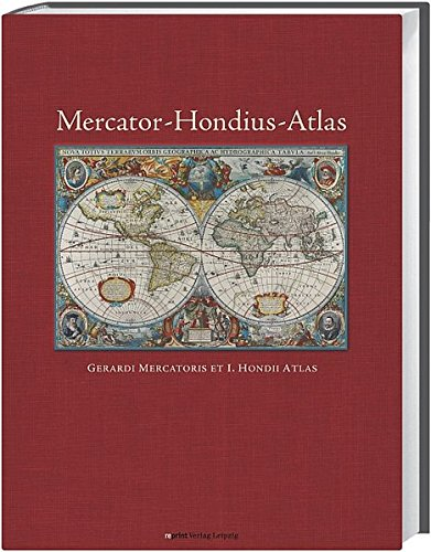 Mercator-Hondius-Atlas: Gerardi Mercatoris et I. Hondii Atlas (Mercator-atlas)