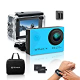 Action Cam 4K, OTHA Sports Action Kamera Unterwasserkamera Wi-Fi 16MP Full HD...