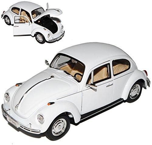 vw-volkswagen-kafer-coupe-richtiges-weiss-1-24-welly-modell-auto-mit-individiuellem-wunschkennzeiche