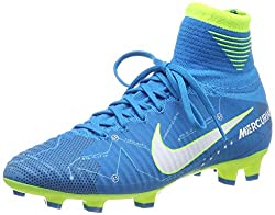 Nike Unisex-Kinder Mercurial Superfly V DF Neymar FG Fußballschuhe, Blau (blau blau), 37.5 EU