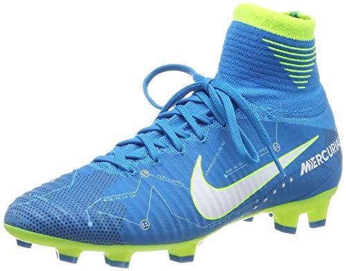 Nike Unisex-Kinder Mercurial Superfly V DF Neymar FG Fußballschuhe, Blau (blau blau), 36.5 EU