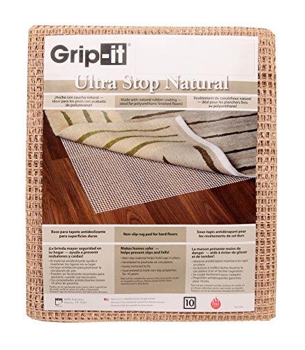 Grip-it Ultra Stop Anti-Rutsch-Matte für Teppiche auf harten Böden Modern 5x8 Natur - Teppich-pad, 8 X 5