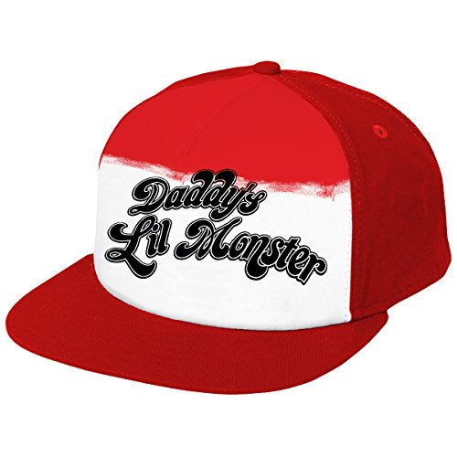 Suicide Squad Harley Quinn Snapback Cap red-black-white