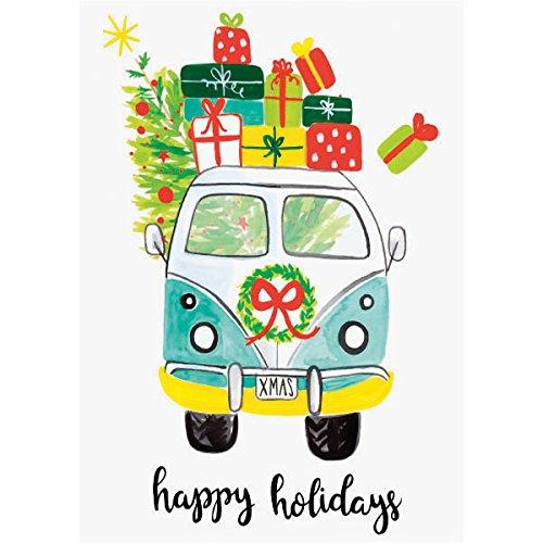 karten Grußkarte VW Urlaubswohnwagen ()