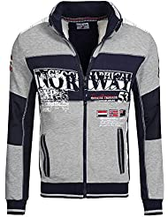 Geographical Norway - Sweat Homme Geographical Norway Gavrilos Orange