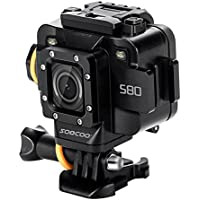 Dailyinshop SOOCOO S80 HD 1080P Wireless Action Camera 1.5 Inch WiFi Sport Helmet Camera