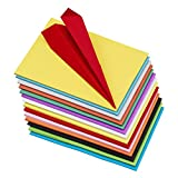 #9: Pindia Premium Pack Of 100 A4 Size Assorted Color Sheets Copy Printing Papers Smooth Finish Home, School , Office Stationery