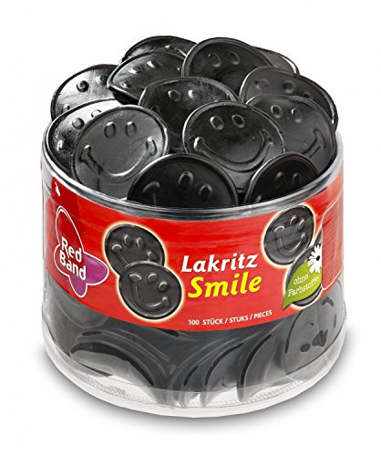 Preisvergleich Produktbild Red Band Lakritz-Smile Dose