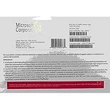 Microsoft Sof MS Win 10 Pro IT 64Bit 64Bit, italian