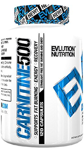 EVLution Nutrition CARNITINE 500, 60 capsules