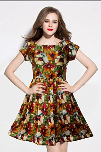 western dresses for women Yellow Sketer Colour exclusive Dress ( All Size available )
