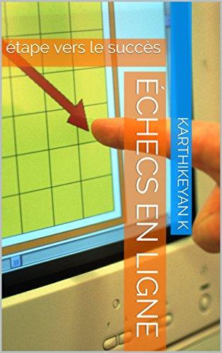 Couverture du livre échecs en ligne: étape vers le succès