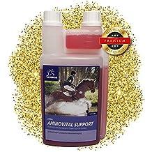 EMMA ♥ Aminoácido para Caballos alimento para Caballos suplemento, alimenticio líquido para el Suministro rápido