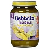 Bebivita Abendbrei Grieß-Vanille, 190 g