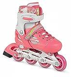 Playlife JOKER verstellbare Inline Skates Mädchen rosa-weiß rosa-weiß, 38-41