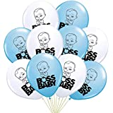 HK balloons Pack of 30 Boss Baby Themed Birthday Decoration Balloons