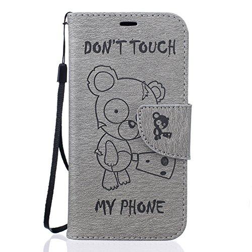 Samsung Galaxy J3(2016) Phone Case Folio Flip Soft PU Leather Phone Case Wallet Cases Test