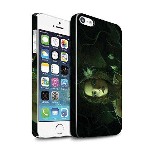 Officiel Elena Dudina Coque / Clipser Brillant Etui pour Apple iPhone 5/5S / Pack 15pcs Design / Un avec la Nature Collection Bain Caché