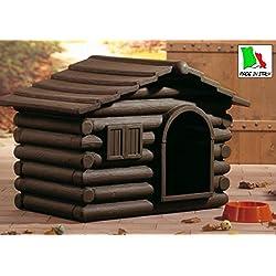 TELCOM - Caseta para perros (resina, tamaño mini)