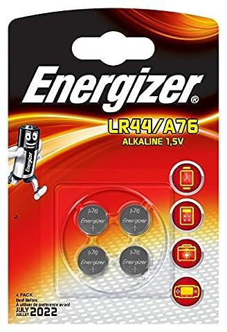 Energizer LR44 Battery - Pack of 4