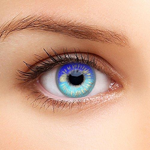 Farbige Kontaktlinsen HEROES OF COSPLAY COMIC ANIME Serie für Cosplay, GUT DECKEND, AUSDRUCKSSTARK, BEQUEM zu tragen ()
