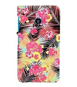 Fiobs Designer Back Case Cover for Nokia Lumia 530 :: Nokia Lumia 530 RM 1017 :: Nokia Lumia 530 Dual SIM :: Microsoft Lumia 530 Dual (Flowers Theme Floral Love Lovely Gift)