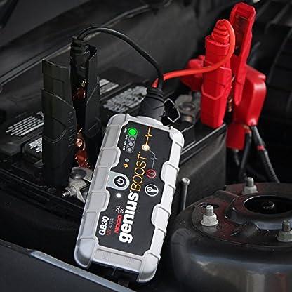 NOCO GB30 Genius Cargador Inteligente de Batería 12V Lithium, 400 Amp