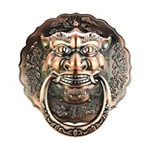 Animal head door handle, Chinese door knocker, door lion head handle, drawer/cabinet door small pull ring